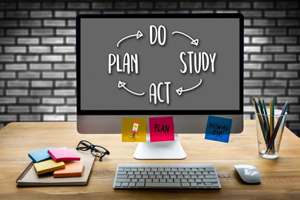 lập kế hoạch học trực tuyến