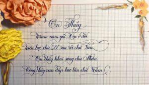 Bán tập viết chữ 1 ô li luyện chữ đẹp