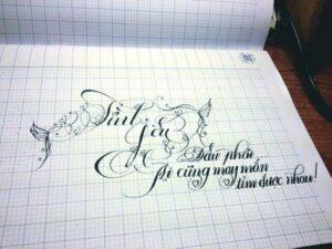 Luyện viết bảng chữ cái tiếng Việt