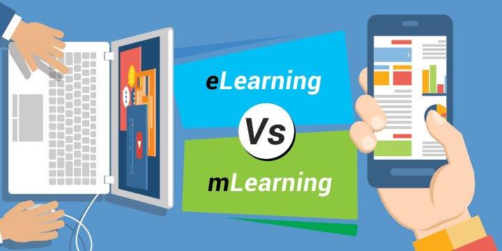 Sự khác biệt giữ M-Learning và E-Learning