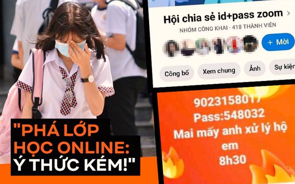 Phá rối lớp học online